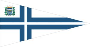 Nyländska Jaktklubben - Image: Burgee of Nylandska jaktklubben