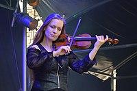 Burgfolk Festival 2013 - Ally the Fiddle 01.jpg