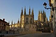 Burgos Cathedral sunrise