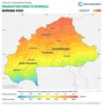 Burkina-Faso DNI Solar-resource-map lang-FR GlobalSolarAtlas World-Bank-Esmap-Solargis.png