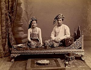 Burmese Couple in the 1890s.jpg