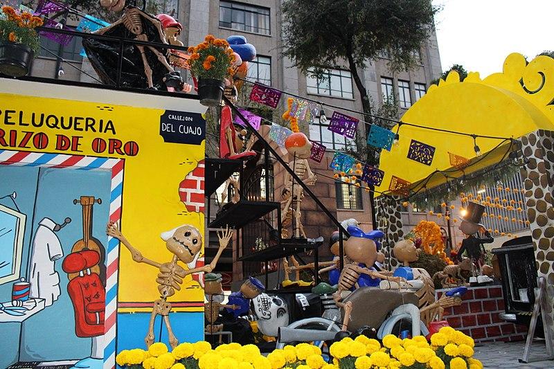 Origem da festa do Dia dos Mortos no México