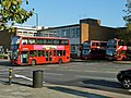 Bus leaving Brixton Garage - geograph.org.uk - 2699846.jpg