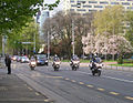 Bush's motorcade in Zagreb.jpg