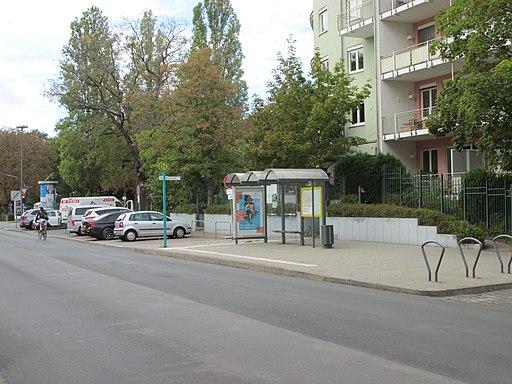 Bushaltestelle Bremer Platz, 2, Westend, Frankfurt am Main
