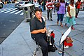 Busking on the Streets of New York City (2724450307).jpg