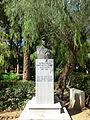 Buste - jardin municipal de Réthymnon - 8.JPG