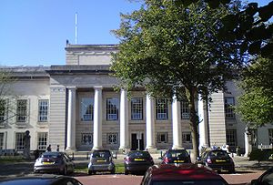 Bute Building, Cardiff University, Wales