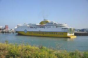 Transmanche Ferries - Côte d'Albâtre in Le Havre