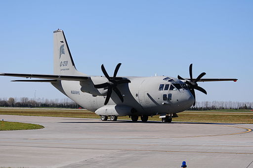 C-27J Lands at North Dakota Air National Guard for Familiarization DVIDS329132