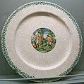 C.sf., urbino o casteldurante, grande piatto con apollo e dafne, 1535-1540.JPG