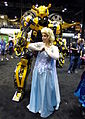 C2E2 2014 - Bumblebee & Elsa (14272170445).jpg