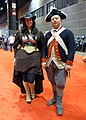 C2E2 2014 - Revolutionary War garb (14271723805).jpg