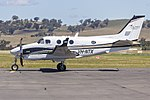 CAE Oxford Aviation Academy (VH-NTX) Beechcraft C90GTi King Air at Wagga Wagga Airport.jpg