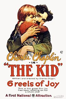 <i>The Kid</i> (1921 film) 1921 American silent comedy-drama film by Charles Chaplin