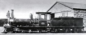 Cape Government Railways 1st Class locomotives - 1st Class 2-6-0 of 1876 by Beyer, Peacock