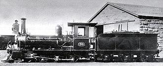 CGR 1st Class 2-6-0 1876 BP - Image: CGR 1st Class 2 6 0 1876 BP no 39