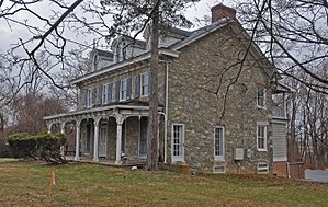 Randallstown, Maryland - Historic Choate House in Randallstown.