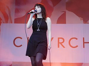 Every Open Eye - Chvrches performing at Ottawa Bluesfest 2015, where they debuted three songs from the album