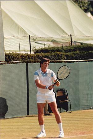 Charlie Pasarell - Charlie Pasarell Wimbledon 1986