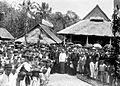 COLLECTIE TROPENMUSEUM Jubileum van de hulpprediker Schartz te Sonder Minahasa Sulawesi TMnr 10000744.jpg