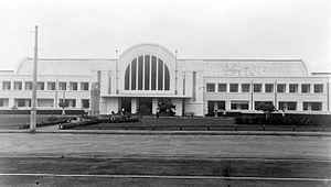 Jakarta Kota railway station - The station in 1938
