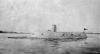 CSS Virginia - Image: CSS Virginia 1862.2.ws