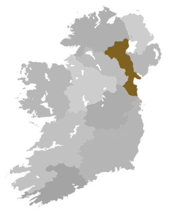 Diocese of Armagh (Church of Ireland) - Diocese highlighted within Ireland