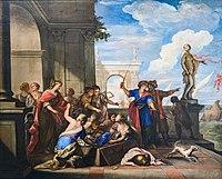 Ca' Rezzonico - Achille e le figlie di Licomede - Nicolo Bambini.jpg