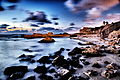 Caesarea harbor long exposure.jpg