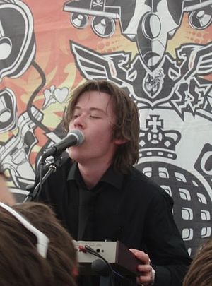 The Scientists of Modern Music - Cal Young of TSOMM performing at MS Fest, 2007