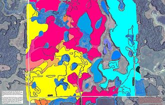 Becker County, Minnesota - Soils of Callaway WMA area