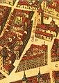 Calle de Bordadores (de San Ginés), Plano de Madrid de Teixeira parteabajo002 (cropped).jpg