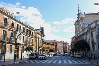 Calle de San Bernardo street in Madrid