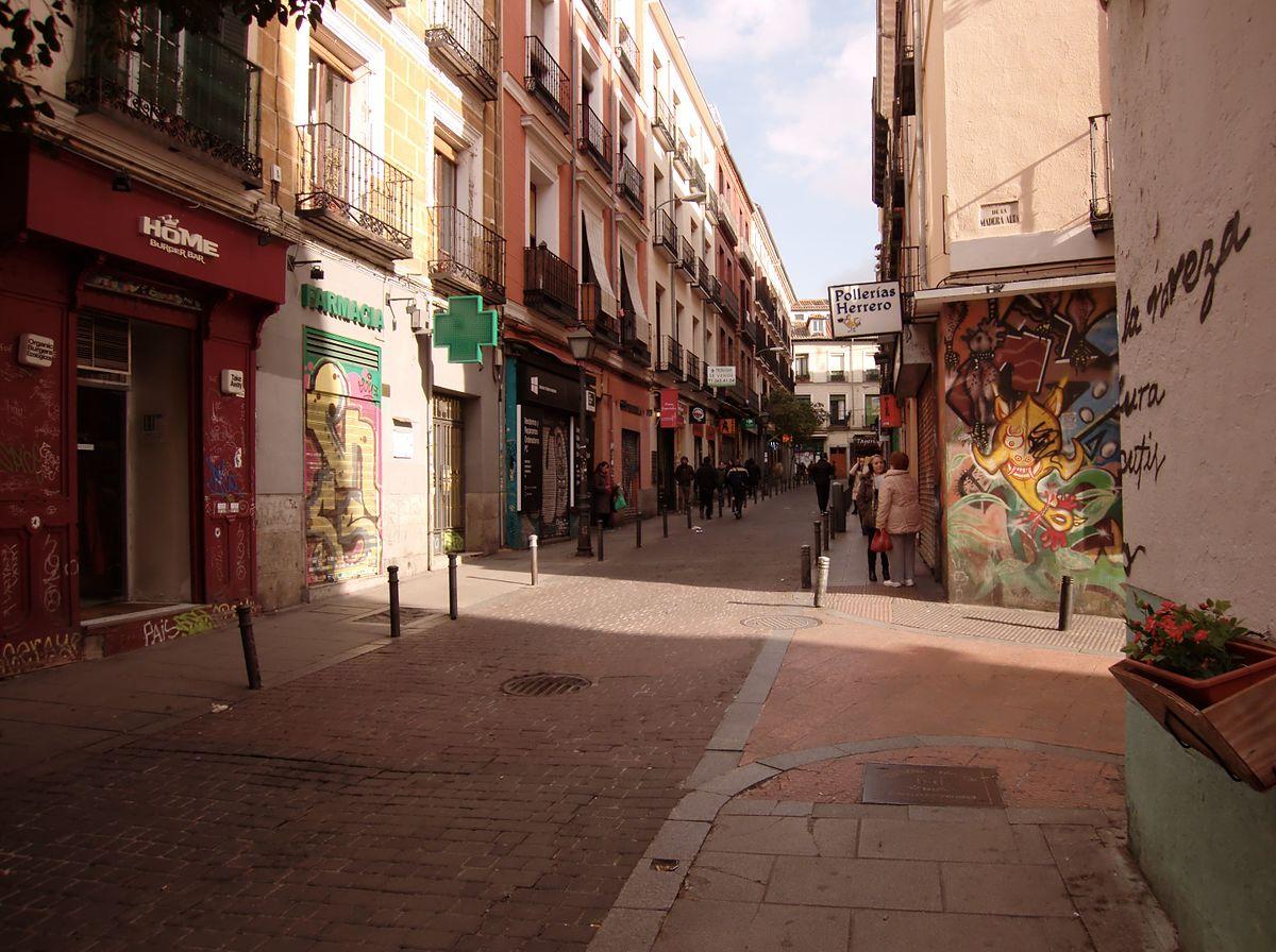 Calle del esp ritu santo wikipedia la enciclopedia libre - Calle nebulosas madrid ...