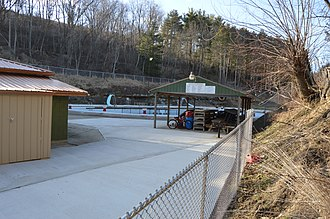 National Register of Historic Places listings in Marshall County, West Virginia - Image: Cameron City Pool
