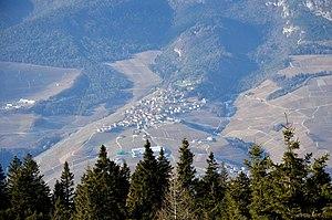 Campodenno - Campodenno from Malga Boldrina