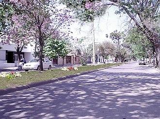 Cañada de Gómez - Residential section in Cañada de Gómez