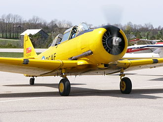 Canadian Harvard Aircraft Association - Image: Canadian Car & Foundry Co. Limited Harvard Mk 4 C FWPK 05