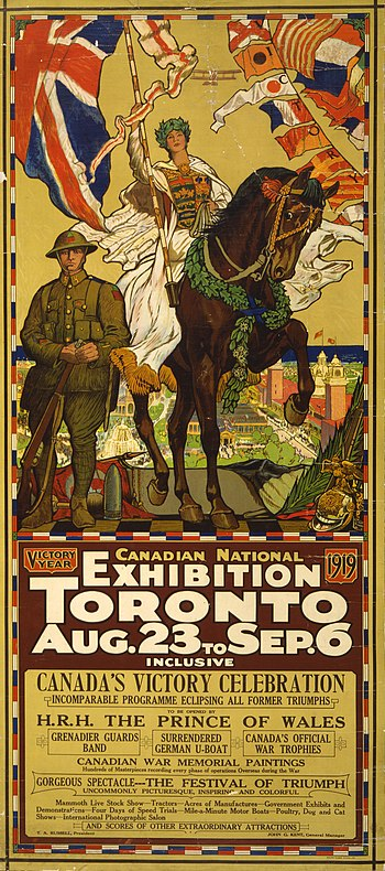 Canadian National Exhibition poster, Toronto, ...