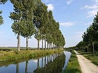 Canal de l'Ourcq pres de Vignely P1050588.JPG