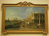 Canaletto - Il Molo verso la Zecca con la colonna di San Teodoro - 1742 - Pinacoteca del Castello Sforzesco di Milano.JPG