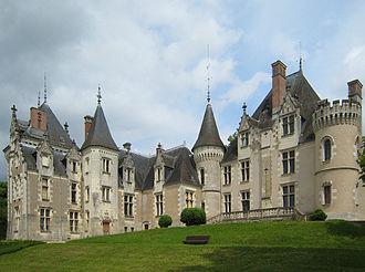 Wallis Simpson - Château de Candé, Monts, France