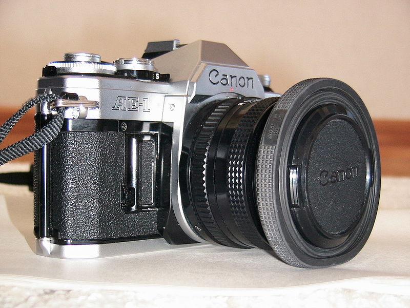 IMAGE: http://upload.wikimedia.org/wikipedia/commons/thumb/5/59/Canon_AE-1.JPG/800px-Canon_AE-1.JPG