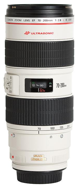 Canon EF 70–200mm lens - Image: Canon EF 70 200mm f 2.8L IS USM