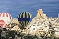 Cappadocia balloon trip, Ortahisar Castle (11893715185).jpg