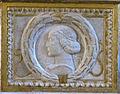Cappella degli antenati, elefanti malatestiani e dado con stemmi e ritratto s.p. malatesta, sx 01,3.jpg
