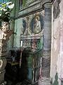 Cappella tocco, zoccolo con affreschi di pietro cavallini 01.JPG