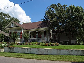 National Register of Historic Places listings in Jackson County, Mississippi - Image: Captain Willie Bodden House Sept 2012