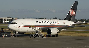 Cargojet - Boeing 767-200ER at Vancouver International Airport